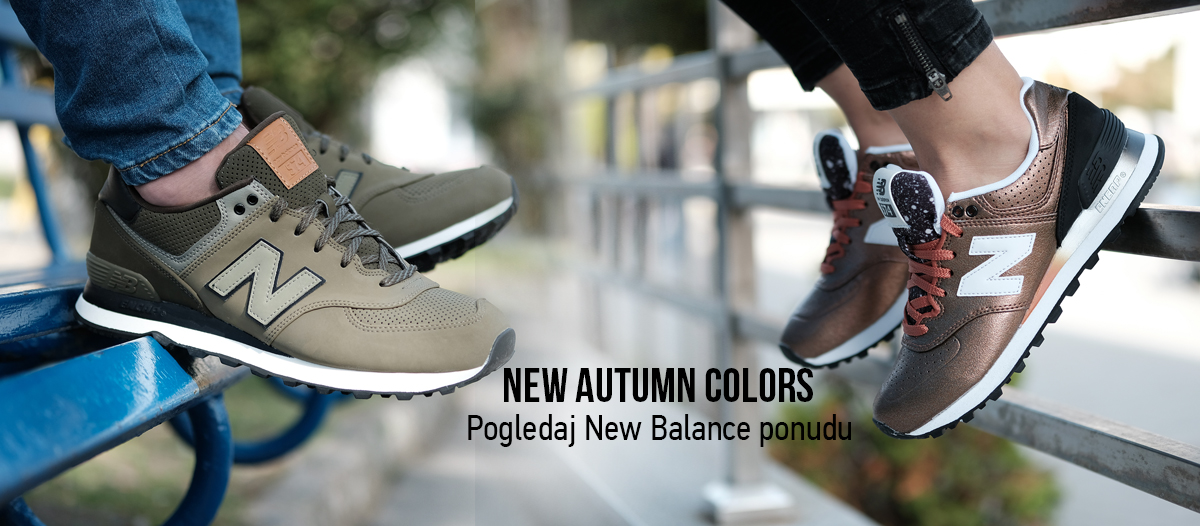 NEW BALANCE - NEW AUTUMN COLORS