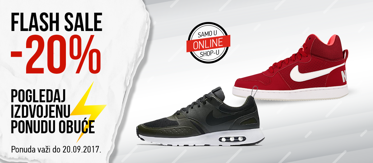 Flash sale - obuća za odrasle