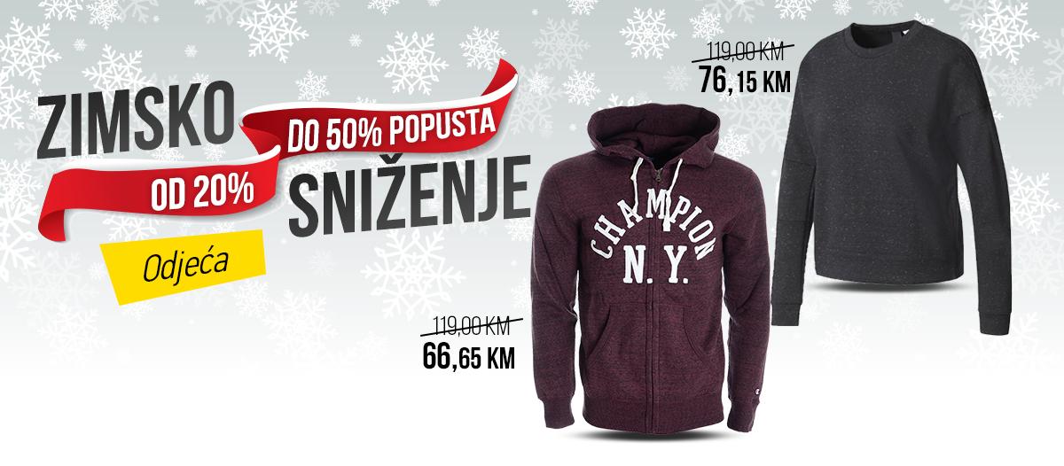 Zimsko sniženje - Odjeća