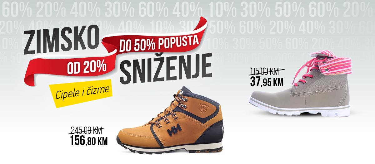 Zimsko sniženje - Cipele i čizme