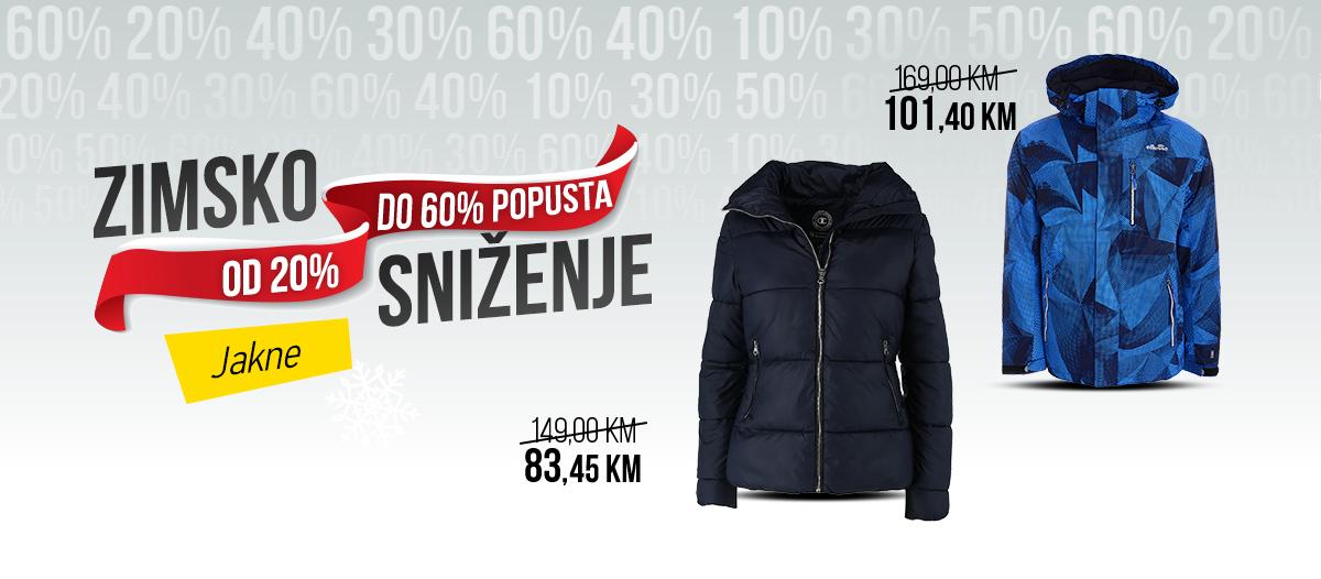 Zimsko sniženje - Jakne