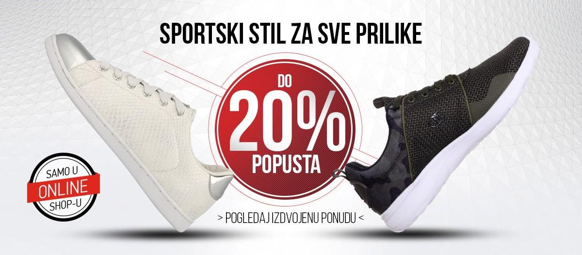 Sportski stil - 20% popusta