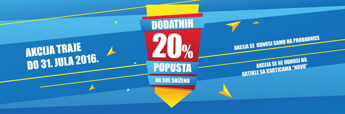 -20% u Sport Vision multibrend radnjama