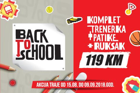 BACK TO SCHOOL – Champion pogodnosti za školarce