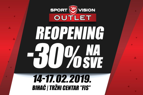 REOPENING: SPORT VISION OUTLET – BIHAĆ