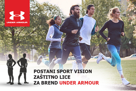 TRAŽIMO UNDER ARMOUR AMBASADORE