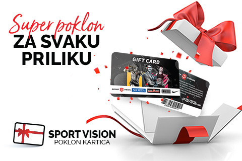 POKLON ZA SVAKU PRILIKU – SPORT VISION GIFT CARD