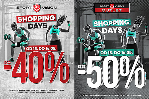 SPORT VISION SHOPPING DAYS