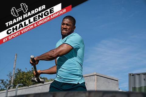 "Testirajte granice izdržljivosti - ne propustite ""Train Harder Challenge by Sport Vision & Under Armour"""