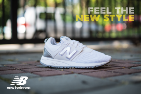 FEEL THE NEW STYLE – NEW BALANCE