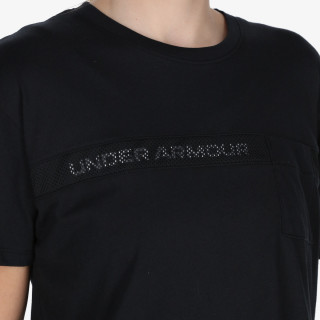 UNDER ARMOUR Live Pocket Mesh Graphic SS
