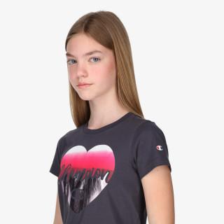 CHAMPION GIRLS HEART T-SHIRT