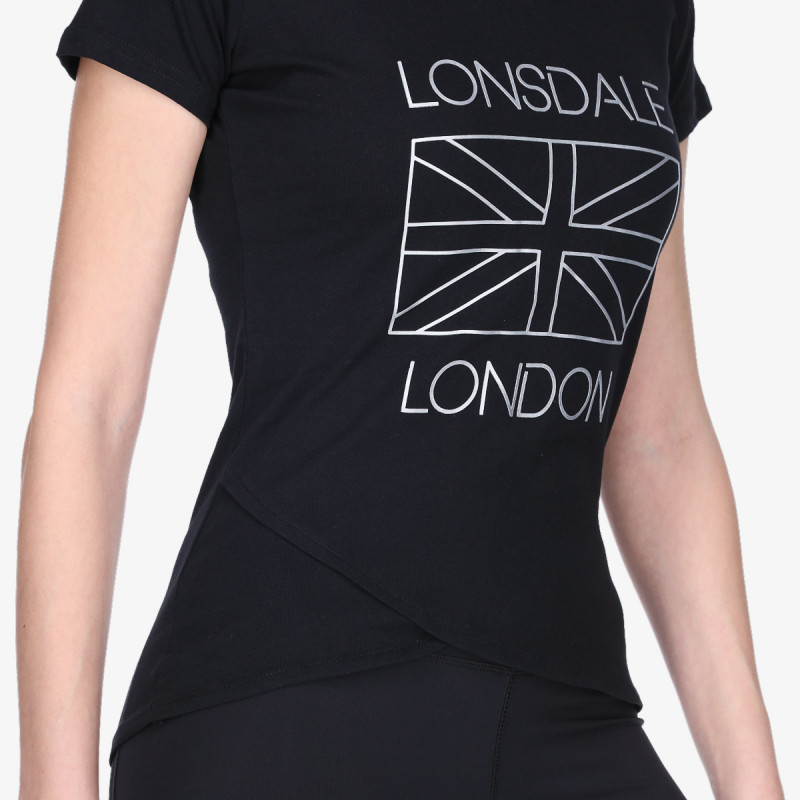 LONSDALE FLUO FLAG TEE