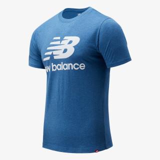 NEW BALANCE Essentials Stacked Logo Tee