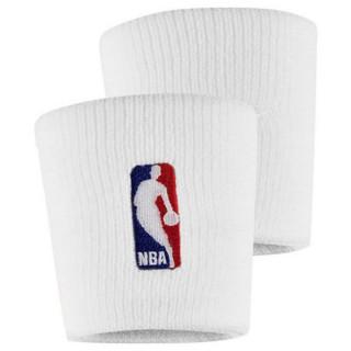 NIKE NIKE WRISTBANDS NBA WHITE/WHITE
