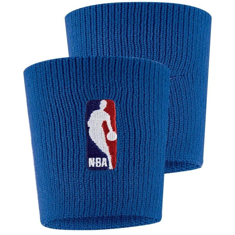 NIKE NIKE WRISTBANDS NBA RUSH BLUE/RUSH BLUE