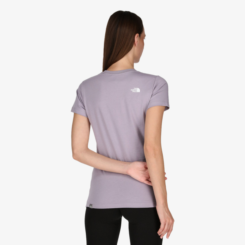 THE NORTH FACE W S/S EASY TEE MLGY/LWGCVPTXPT