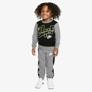 NIKE NKB COLOR BLOCK FLC CREW SET