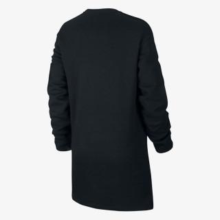 NIKE Haljina W NSW AIR CREW DRESS BB FLC