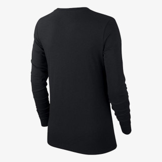 NIKE Majica dugih rukava W NSW TEE ESSNTL LS ICON FTRA