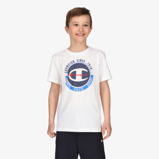 CHAMPION BOYS BIG LOGO T-SHIRT