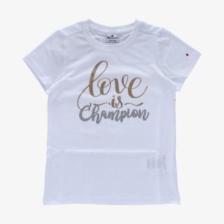 CHAMPION GIRLS LOVE T-SHIRT