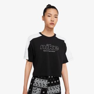 NIKE Majica W NSW TOP SS ARCHIVE RMX