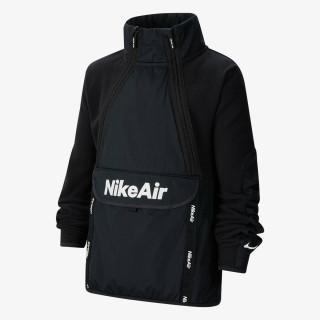 NIKE Dukserica B NSW REFLECTIVE WZ AIR TOP