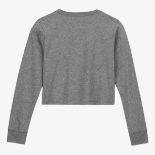 NIKE Majica dugih rukava G NSW TEE NIKE AIR LS CROP