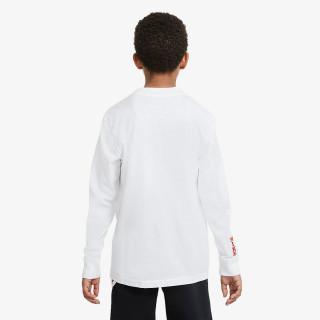 NIKE Majica dugih rukava G NSW TEE MOCK LS
