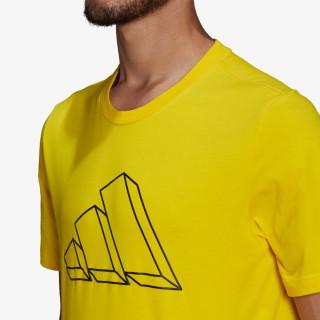 adidas Majica M FI GFX TEE