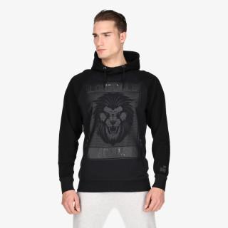LONSDALE Dukserica BLK LION HOODY