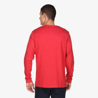 LONSDALE Majica dugih rukava RETRO FLAG T-SHIRT LS