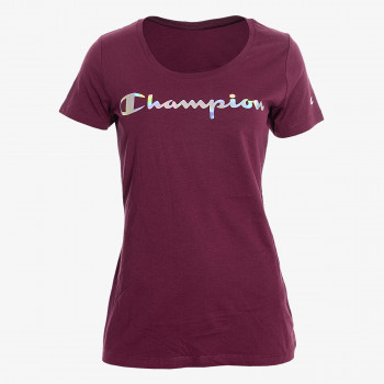 CHAMPION Majica LADY SHINE LOGO T-SHIRT
