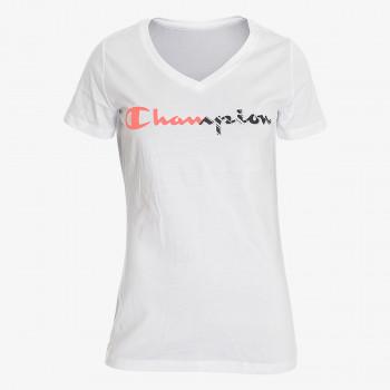 CHAMPION Majica LADY ZEBRA LOGO T-SHIRT