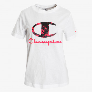 CHAMPION Majica LADY PRINTED LOGO T-SHIRT