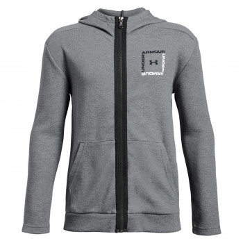 UNDER ARMOUR Dukserica UNSTOPPABLE DOUBLE KNIT FULL ZIP