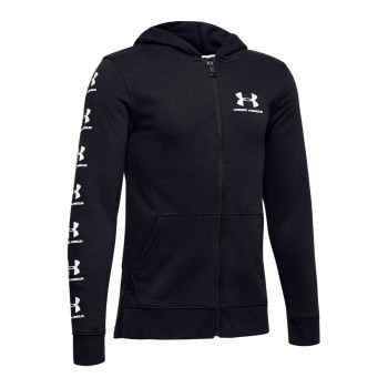 UNDER ARMOUR Dukserica RIVAL FULL ZIP HOODY