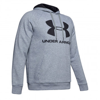 UNDER ARMOUR Dukserica RIVAL FLEECE SPORTSTYLE LOGO HOODIE