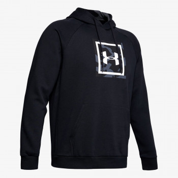 UNDER ARMOUR Dukserica RIVAL FLEECE PRINTED HOODIE
