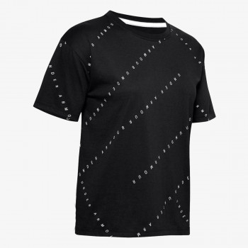 UNDER ARMOUR Majica UA Logo Print Live SS