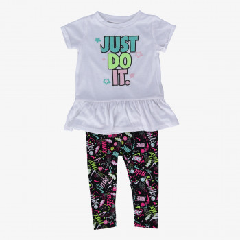 NIKE Set NKG SCRIBBLE TUNIC LEGGING SET