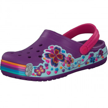 CROCS Papuče CROCS CB FUN LAB GRAPHIC CLOG KIDS