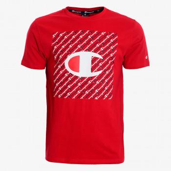 CHAMPION Majica ALL OVER SQUARE T-SHIRT