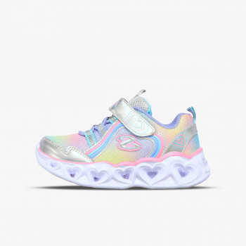 SKECHERS HEART LIGHTS-RAINBOW LUX