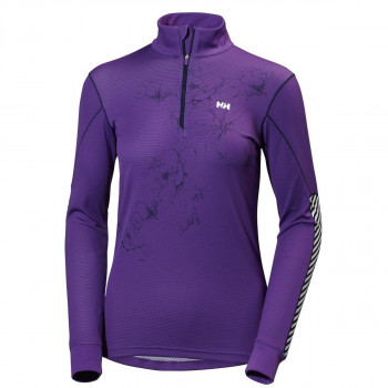 HELLY HANSEN Aktivni veš gornji dio W HH ACTIVE FLOW GRAPHIC 1/2 ZIP