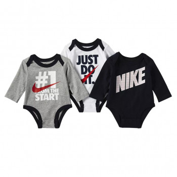 NIKE Kombinezon NKB NIKE BOYS 3PC LS BODYSUIT
