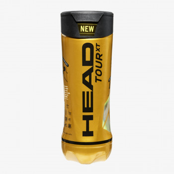 HEAD Loptica za tenis HEAD Loptica za tenis HEAD Loptica za tenis HEAD LOPTICE ZA TENIS TOUR XT 3 PACK
