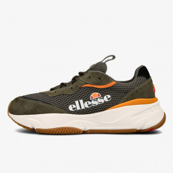 ELLESSE Patike MASSELLO TEXT AM DK GRN/ORG/WHT