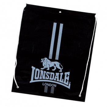 LONSDALE Vrećica za trening LONSDALE CARRY SACKS 62 BLACK/WHITE